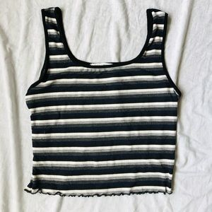 Cropped Stripped Tank top